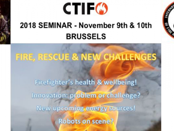 CTIF : Fire, Rescue & New Challenges