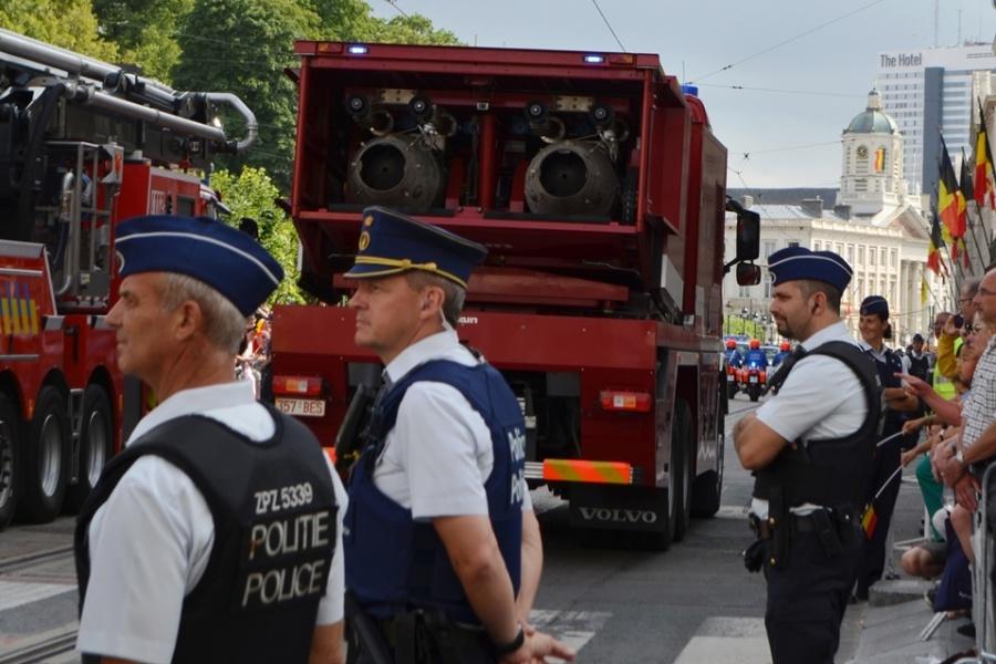 Turbojet Civiele Bescherming - BASF & autoelevator 50m Brandweer Antwerpen