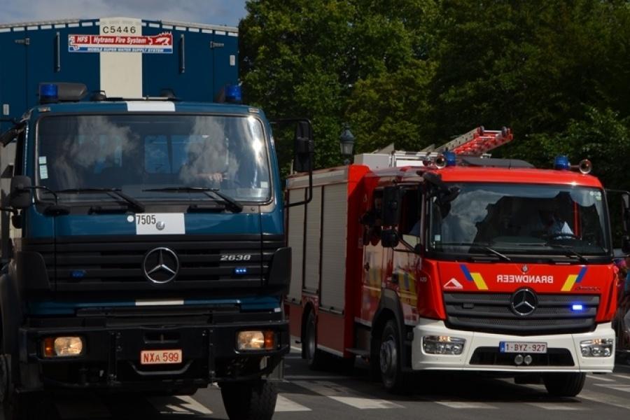 Multifunctionele autopomp Brandweer Hasselt