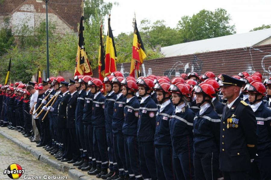 Revue des troupes