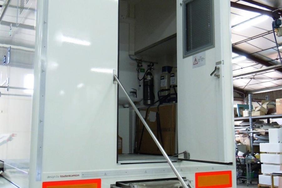 Mobiel labo van de Civiele Bescherming van België
