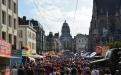 De Regentschapstraat op 21 juli