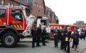 Schouwing van de troepen - Brandweer Brecht (Foto: Dirk Janssens)