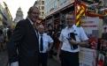 Bezoek van Directeur-generaal Civiele Veiligheid Jérôme Glorie aan het veilighei