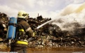 Incendie à Aubange