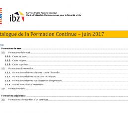 Neuer Weiterbildungskatalog – Juni 2017