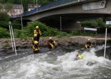 Ausbildung « flood rescue »