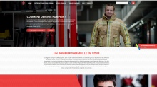 site www.jedevienspompier.be